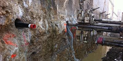 drenaggi, perforazioni orizzontali